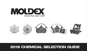variety of life-saving respiratory protection in 2018 Moldex  Chemical Selection Guide