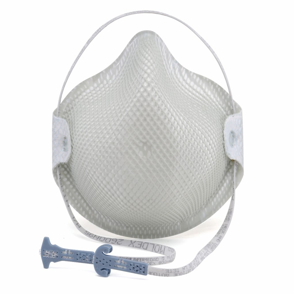 2600N95 Series Particulate Respirators With HandyStrap