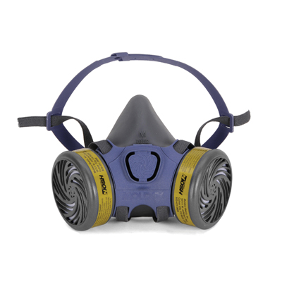 multi-gas half-face reusable face mask for respirator