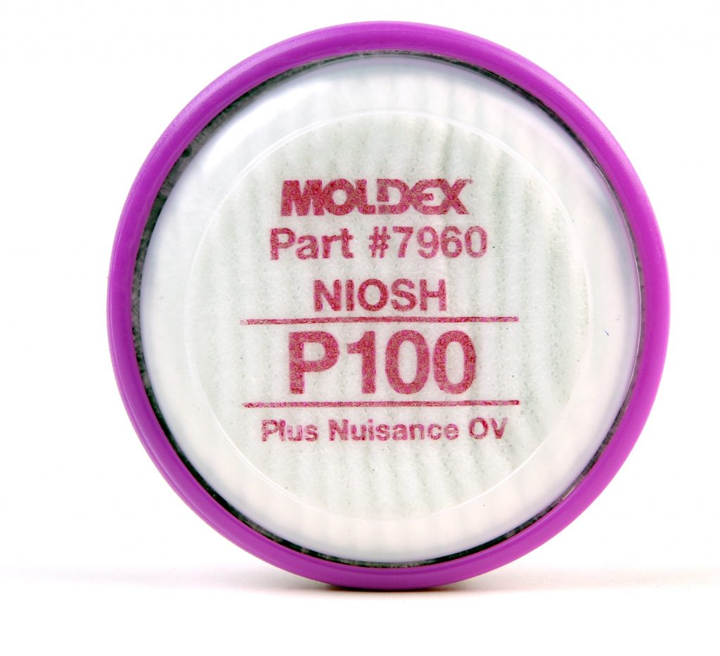 P100 Plus Nuisance Level Organic Vapor Relief Particulate Filter Disks